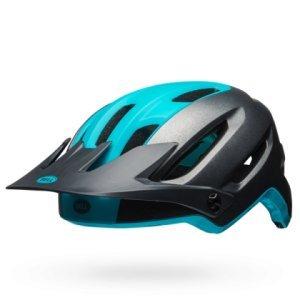 Шлем велосипедный Bell 18 4FORTY MTB, универсальный, матовый темно серо-синийВелошлемы<br>Велосипедный шлем Bell 4FORTY, технология точной подгонки размера Float Fit™, конструкция Fusion In-Mold Polycarbonate Shell, регулируемый козырек с системой Goggleguide™ Adjustable Visor System. Сертификаты CE EN1078, CPSC Bicycle.