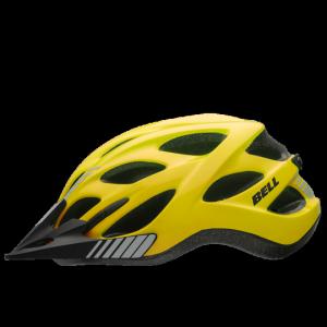 Шлем велосипедный Bell 17 MUNI CITY, универсальный, глянцевый желтый