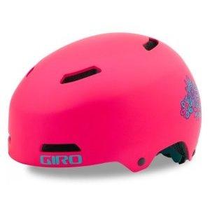 Шлем детский Giro 18 DIME FS BMX, матовый светло-розовый цветокВелошлемы<br>ОПИСАНИЕ<br>Dime FS™ это детская версия нашего брутального Quarter FS™. Не удивительно, что младшему брату достались многие из его<br>технологий, корпус из ABS пластика с подкладкой ESP. Dime FS™ доступен в двух размерах и предлагается с регулировкой<br>Roc Loc® Vert, чтобы ребенок мог регулировать шлем самостоятельно. Вентиляция - 9 отверстий. <br>Размеры : <br>XS 47 - 51 см<br> S- 51 – 55 см.