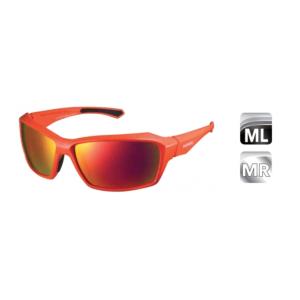 Велосипедные очки Shimano PULSAR, оранжево-красный MLC, ECEPLSR1MLDВелоочки<br>Велосипедные очки Shimano PULSAR это очки с классической конструкцией, идеально подходящей для катания, прогулок, да и вообще для любой физической активности на солнце. Легкий, прочный и долговечный материал Grilamid TR-90. Формование с ЧПУ для высочайших точности, симметрии и качества. Нетоксичные наконечники TPE двойного формования. Прочные, жесткие и легкие поликарбонатные линзы с защитой UV400, гидрофобным покрытием и защитой от царапин. Комплектуются дорожным футляром, мешочком для очков который можно использовать для протирки линз.<br><br>Комплектация: <br> Оранжевая  матовая оправа<br>Дымчато-красные зеркальные линзы.