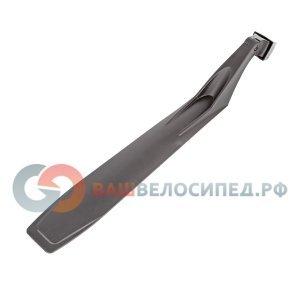 Крыло-щиток AUTHOR X-Flap, пластик, 26-29, задний, черный, 8-16150530