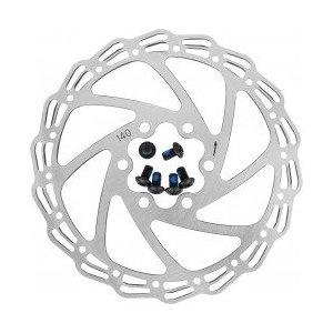 Тормозной диск ALHONGA (ротор), для дискового тормоза HJ-DXR1406 140 мм.+ 6 болтов, 6-171406 фото