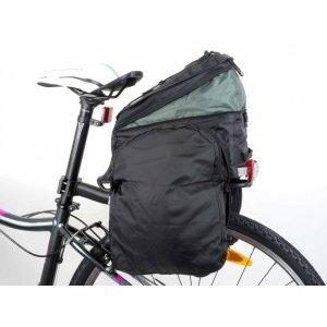 Велосипедная сумка AUTHOR Carry More LitePack 20 б/съемная с плечевым ремнем V=20л черная,8-15000098