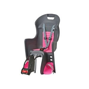 Детское велокресло AUTHOR Boodie на подседельный штырь, до 22кг, серо-розовое, Португалия 8-16240172Детское велокресло<br>Кресло детское велосипедное AUTHOR ABS-BOODIE с креплением на подседельный штырь велосипеда. Предназначено для перевозки детей до 22 кг., возраст до 7 лет, регулируемая высота подножек, быстросъемное, со страховочными ремнями, серо-розовое. Португалия.