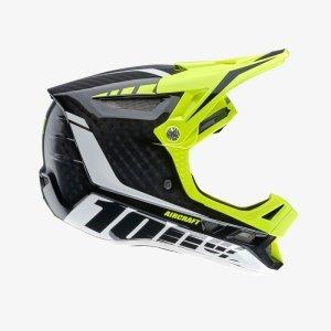 Велошлем 100% Aircraft DH Helmet Demo, черно-желтый 2018