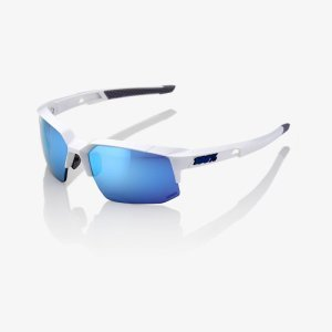 Велоочки 100% Speedcoupe Matte White / HiPER Blue Multilayer Mirror, 61031-000-75Велоочки<br>Очки 100% Speedcouple — это всё самое необходимое для защиты глаз в компактном корпусе. <br><br><br><br>Благодаря фирменным линзам 100%, вааши глаза будут защищены от всего — начиная от воздействия ультрофиолетовых лучей и заканчивая уменьшения бликов от яркого солнца. Двойные полуобрамлённые линзы с вентиляцией предназначены для беспрепядственного обзора, а резиновые вставки в районе носа спроектированы для максимального комфорта при езде на велосипеде.<br><br><br><br>ОСОБЕННОСТИ:<br><br>Сделано в Европе<br><br>Обтекаемая оправа для оптимальной защиты<br><br>Высокопрочные линзы из поликарбоната<br><br>Стандарт защиты от ультрафиолета UV400<br><br>Покрытие линз устойчиво к царапинам<br><br>Обработка линз HYDROILO отталкивает воду, грязь и масло<br><br>В комплекте: Футляр, тряпка для протирки очков из микрофибры и прозрачные линзы для замены