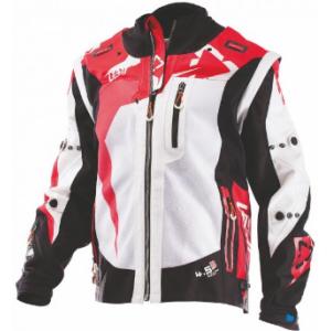 Велокуртка Leatt GPX 4.5 X-Flow Jacket, черно-красный 2018