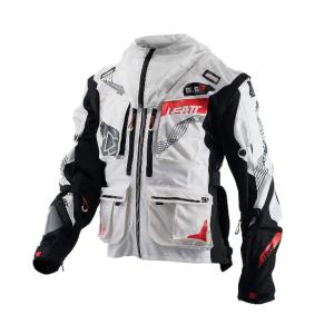 Велокуртка Leatt GPX 5.5 Enduro Jacket, бело-черный 2018