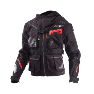 Велокуртка Leatt GPX 5.5 Enduro Jacket, черно-серый 2018