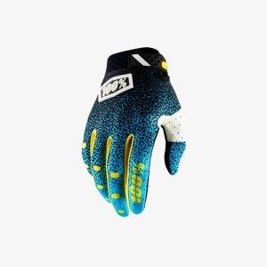 Велоперчатки 100% Ridefit Glove, сине-черный 2018