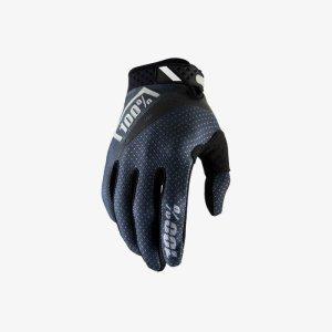 Велоперчатки 100% Ridefit Glove, черный 2018