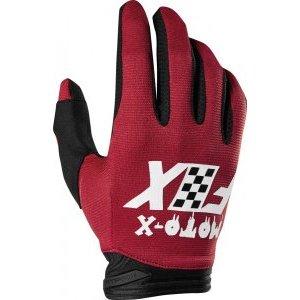 Велоперчатки Fox Dirtpaw Czar Glove Cardinal 2019