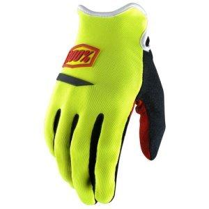 Велоперчатки женские 100% Ridecamp Women Glove, желтый 2018