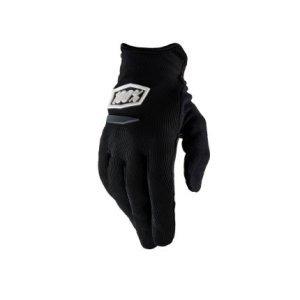 Велоперчатки женские 100% Ridecamp Women Glove, черный 2018