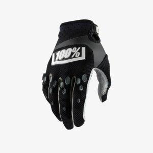 Велоперчатки подростковые 100% Airmatic Youth Glove, черный 2018