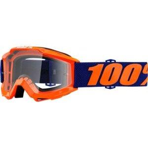 Веломаски подростковые 100% Accuri JR Origami / Clear Lens, 50300-226-02