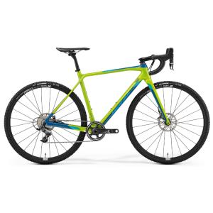 Шоссейный велосипед Merida Mission CX8000 28 2019Шоссейные<br>Для спортсменов, которые выбрали своей стихией дисциплину циклокросс, компания Merida изготовила великолепный велосипед Mission CX8000 2019. Модель получилась легкой и стильной. Рама и вилка изготовлены из высокопрочного сверхлегкого карбона и имеют высокую жесткость. Дисковые тормоза Sram Force1 позволят остановить велосипед максимально быстро и плавно. Сборные фирменные колеса DT Swiss обуты в грязевые покрышки Maxxis All Terrane. Комплект навесного оборудования шоссейного типа Sram Force1 порадует бесшумной работой и неприхотливостью в настройке и обслуживании.<br><br><br>Технические характеристики Merida Mission CX8000 (2019)<br>полмужской<br>тип тормозовдисковый гидравлический<br>диаметр колеса28 дюймов<br>уровень оборудованияпрофессиональный<br>рульMerida Expert SL; 31.8 D<br>материал рамыкарбон<br>количество скоростей11<br>рулевая колонкаVP-B303AC Neck<br>выносMerida Expert CC; 31.8 D; -5 A<br>грипсыMerida ROAD Expert<br>передний тормозSram Force1 disc, CenterLine Rotor; 160mm<br>задний тормозSram Force1 disc, CenterLine Rotor; 160mm<br>тормозные ручкиSram Force1 disc<br>цепьKMC X11-1<br>системаSram Force1 40T<br>кареткаSram Pressfit PF86<br>ободьяDT Swiss ER1400 Spline DB21; 20 IW<br>передняя втулкаattached<br>задняя втулкаattached<br>передняя покрышкаMaxxis All Terrane; 700x33C; fold; tubless compatible<br>задняя покрышкаMaxxis All Terrane; 700x33C; fold; tubless compatible<br>седлоMerida Expert CC<br>подседельный штырьMERIDA Carbon Team Superlite; 27.2 DSP; SB0<br>кассетаShimano CS-R7000; 11-32 T; 11 S<br>задний переключательSram Force1<br>манеткиSram Force1 disc<br>рамаMISSION CX CF3<br>вилкаMISSION CX CF