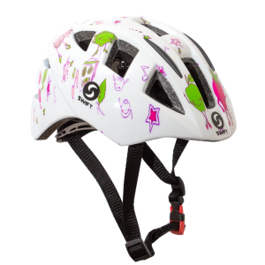 Велошлем детский SwiftBikes 11, белый фото