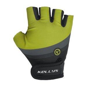 Перчатки велосипедные KELLYS NYX детские, салатовыеВелоперчатки<br>Перчатки велосипедные KELLYS NYX детские, салатовые