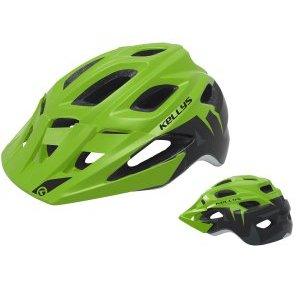 Шлем велосипедный KELLYS RAVE для MTB, матовый зелёныйВелошлемы<br>Шлем KELLYS RAVE для MTB, Матовый зеленый<br>16 больших вентиляционных отверстий, магнитная застёжка легко открывается не снимая перчаток даже занемевшими пальцами, антибактериальные внутренние вставки, съёмный козырёк, отражающий стикер сзади