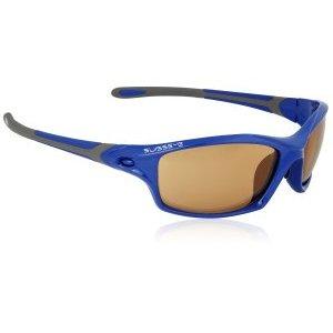 Очки велосипедные SWISSEYE Grip спортивные, оправа: синий глянец/серый, 12265 фото