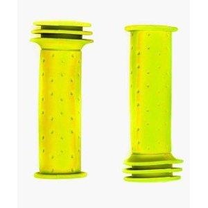 Грипсы велосипедны детские, Vinca Sport H-G 96 trevel yellow,  длина 102мм, резиновые, желтые.Ручки и Рога<br>Грипсы велосипедны детские, Vinca Sport H-G 96 trevel yellow,  длина 102мм, резиновые, желтые, индивидуальная упаковка Vinca Sport. Детские резиновые грипсы в индивидуально упаковке Vinca Sport. Подойдут к любым детским велосипедам и сделают катание юных велосипедистов более комфортным и безопасным.