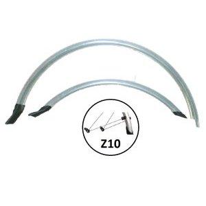 Крылья велосипедные комплект, Vinca HN 12 (28) silver, 28, ширина 50мм, удлиненные, серебро.Крылья для велосипедов<br>Крылья велосипедные комплект, Vinca HN 12 (28) silver, 28, ширина 50мм, удлиненные, серебро.<br>Комплект крыльев удлинненные с резиновыми брызговиками, 28, ширина - 50мм, PVC, cтойка Z2 регулируемые, цвет серебро.