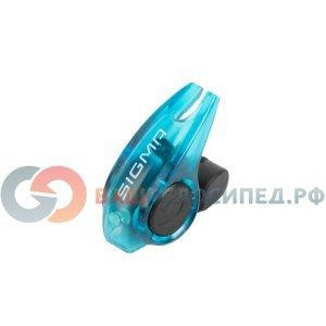Фонарь стоп-сигнал Sigma Sport Brakelight, синий корпус, 31004Фары и фонари для велосипеда<br>Особенности:<br>легкий и компактный габарит безопасности<br>включается во время нажатия на ручку тормоза<br>один светодиод<br>фонарик совместим с ободными тормозами V-brake<br>боковая видимость<br>герметичный влагозащищенный корпус<br><br>Комплектация:<br>габаритный фонарик безопасности<br>крепеж<br>2 батарейки<br>инструкция<br><br>Материал: Пластик<br>Диод: Led 1 шт<br>Время работы: До 200 часов (100 000 нажатий)<br>Батарея: CR10251<br>Крепление: Крепится на тормозной трос с помощью болта. Для монтажа нужен шестигранник 2,5 мм<br>Размер: 3 х 3 см<br>Вес: 6 г