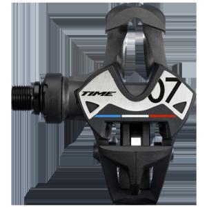 Педали контактные для велосипеда, TIME Xpresso 7 T2GR012, карбоновые пластины.
