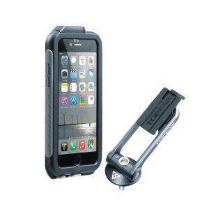 Чехол водонепроницаемый велосипедный, TOPEAK Weatherproof RideCase TT9847BG, iPhone 6,6s, blackgrey.Держатели для телефона на руль велосипеда<br>Чехол водонепроницаемый велосипедный, TOPEAK Weatherproof RideCase TT9847BG, iPhone 6 , 6s , black grey.<br>ДОБАВЛЕННЫЕ ФУНКЦИИ    Touch ID compatibleAngle настраивается Поворот для пейзажного или портретного просмотра. <br>Совместимые с Topeak PanoComputer держатели<br>МАТЕРИАЛ   Двухцветный корпус с высокой ударопрочностью<br> Включенные крепления для установки на руль, стержень  22,2 мм - 48 мм     или колпачок<br>РАЗМЕР       15,7 x 8 x 1,5 см         6,2  x 3,1  x 0,6    корпус <br>ВЕС    75 г<br><br><br>Специально разработан для iPhone 6   , 6s для обеспечения максимальной защиты от воды и грязи. Защитный экран обеспечивает сенсорный доступ и совместим с сенсорным ID во влажных или сухих условиях. Его уникальное и полностью регулируемое угловое крепление позволяет просматривать в альбомной ориентации или ориентации по вертикали и позволяет монтировать или удалять RideCase за считанные секунды. <br>ВАЖНОЕ ПРИМЕЧАНИЕ. Из-за точной подгонки атмосферостойкой RideCase с iPhone 6   6 любая защитная пленка на передней, задней и боковой сторонах должна быть удалена перед установкой Weatherproof RideCase. Никогда не нажимайте Touch ID-пленку без iPhone в RideCase. Несоблюдение этого требования может привести к повреждению пленки Touch ID и гарантии недействительного продукта.