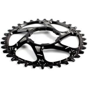Звезда для велосистемы Narrow Wide HOPE Direct Mount, 30 зубьев, с офсетом 3мм, чёрная, RR30BHCSPN фото