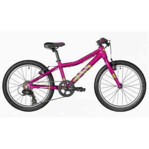 Велосипед детский  Bergamont 20 Bergamonster Girl 2018Детские<br>Каким должен быть хороший детский велосипед? Разумеется, надёжным (следовательно, безопасным), лёгким, и, что самое главное, красивым - ведь для самих детей это важнейший из параметров. Велосипеды Bergamont для детей и подростков в полной мере отвечают всем этим требованиям, а значит, ваши дети будут довольны, а вы - спокойны за них.<br><br>ХАРАКТЕРИСТИКИ<br><br>Амортизатор задний Нет<br>Амортизатор передний Жесткая<br>Амортизация задняя НЕТ<br>Амортизация передняя НЕТ<br>Втулки BGM COMP 32H<br>Вынос BGM COMP 25.4<br>Год 2018<br>Каретка SEALED CARTRIDGE<br>Кассета SHIMANO MF-TZ21 7-speed 14-28t<br>Количество передач 7 SPEED<br>Назначение XC<br>Новинка Нет<br>Обода ALEX RIMS C1000<br>Педали Marwi SP-700<br>Переключатель задний Shimano RD-TY300<br>Переключатель передний Нет<br>Переключение система SHIMANO<br>Подседельный штырь BGM COMP 26.8 mm<br>Покрышки Kenda K1166<br>Пол Подростковый<br>Производитель BERGAMONT<br>Размер колеса 20<br>Размер рамы 28см<br>Рулевая колонка BGM<br>Руль BGM COMP прямой<br>Седло BGM Kids<br>Тормоза AVID V-brakes<br>Тормоза тип V BRAKE<br>Цвет розовый<br>Шатуны BGM COMP<br>Шифтер Shimano SL-RS36, 3x7-speed