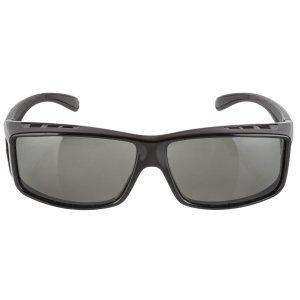 Черные солнцезащащитные очки RAYON FIT MIGHTY,поляризующие , 5-710903Велоочки<br>мягкие носовые колодки<br>противоскользящие накладки на кончиках виска<br>чехол из микроволокна<br>устойчивое к царапинам покрытие<br>монжо носить поверх очков c диоптриями