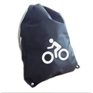 Мешок для обуви со световозвращающей аппликацией, COVA™ Вело, рaзмер 36х48см, цвет черныйВелорюкзаки<br>Мешок для обуви со световозвращающей аппликацией, COVA™ Вело, рaзмер 36х48см, цвет черный