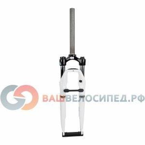 Вилка амортизационная велосипедная RST Nova ML 700Сх28,6 пружинно-масляная 60мм V+D 1-0340Велосипедная вилка<br>Амортизационная вилка RST Nova ML 28<br>Гибридная универсальная вилка среднего уровня для гибридных и городских велосипедов с диаметром колеса 28. Оснащена всеми монтажными креплениями для установки интегрированного света, роллерных тормозов, полнопрофильных крыльев и динамовтулок. Практически не требует регулярного обслуживания  в веломастерских - усиленная конструкция для ежедневного использования.<br><br>    шток: безрезьбовой 1 1/8<br>    расстояние по осям ног на короне 112 мм<br>    алюминиевая корона<br>    стальные стойки 28.6 мм<br>    алюминиевые литые штаны, для 9мм эксцентриков<br>    настройки: механическая блокировка, предварительная нагрузка<br>    демпфер: пружина - масло<br>    ход: 60 мм<br>    для дисковых или ободных тормозов<br>    заявленнный вес 2.30 кг<br><br><br>О компании RST<br>RST - крупнейший в мире производитель амортизационных вилок. Продукцией этого тайваньского производителя комплектуется большая часть велосипедов среднего сегмента всех крупных производителей: Giant, Merida, Trek, GT, Author и т.д. Практически невозможно представить себе современную линейку, в которой не было бы велосипедов с амортизаторами этого бренда.<br><br>Повышенные требования крупных производителей сформировали основные особенности всей продукции RST:<br><br>    Исключительная надежность. Велосипед может лежать на складе несколько лет, прежде чем попасть в руки потребителя, а после, обычный велосипедист пренебрегать своевременным посещением веломеханика.<br>    Простота конструкции - среди велоэнтузиастов мало веломехаников с профессиональными инструментами.<br>    Доступность. Именно оптимальное соотношение цена-качество сделало продукцию компании абсолютным лидером среднего сегмента.<br><br>Для конечного покупателя, продукция RST лучший выбор для городских и горных велосипедов, когда важно не количество тонких настроек более дорогих брендов, а дост