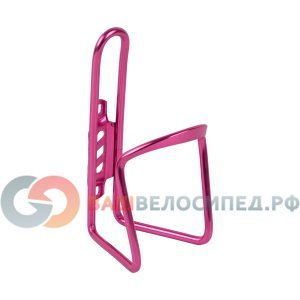 Флягодержатель M-WAVE ,NEW, алюминиевый, пруток ?6 мм, розовый, 5-340848Фляги и Флягодержатели<br>Флягодержатель M-WAVE ,NEW, алюминиевый, пруток ?6 мм, розовый.