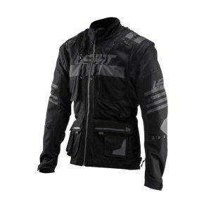Велокуртка Leatt GPX 5.5 Enduro Jacket, черный 2019Велокуртка<br>Легкая грязе- и водостойкая велокуртка создана для самых суровых условий езды.<br><br>В куртке предусмотрена возможность ношения с защитой тела и совместимость с защитой шеи.<br><br>Особенности куртки Leatt GPX 5.5:<br>Водонепроницаемый и грязеотталкивающий материал.<br>Прочные швы в несколько рядов.<br>Съемный воротник можно одеть поверх защиты шеи.<br>Износостойкие рукава.<br>Всего девять карманов.<br>Пять водонепроницаемых карманов.<br>Внутренний карман для питьевой емкости.<br>Продуманная система вентиляции с возможностью регулировки.<br>Регулируемый охват рукава на запястьях.<br>Карман с прозрачным окном на рукаве.<br>Застежки на молниях.