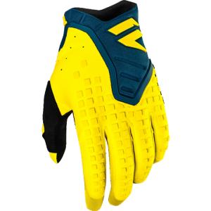 Велоперчатки Shift Black Pro Glove, желто-синий 2019Велоперчатки<br>Black Pro - новые велокроссовые перчатки от Shift. Верх модели выполнен из эластичного дышащего текстиля, а ладонь отделана тонкой искусственной кожей Clarino. Одна из особенностей этих перчаток - дополнительная накладка на большом пальце для большей прочности и долговечности. А силиконовые накладки на кончиках среднего и указательного пальцев обеспечивают лучший контроль ручек тормоза и сцепления.<br><br><br><br>ОСОБЕННОСТИ<br><br><br><br>Материал: текстиль/искусственная кожа<br><br>Дополнительная накладка на большом пальце для большей прочности и долговечности<br><br>Силиконовые накладки на кончиках среднего и указательного пальцев для лучшего сцепления<br><br>Оригинальная графика