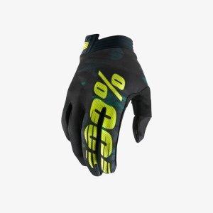 Велоперчатки 100% ITrack Glove Camo 2018Велоперчатки<br>Как и любые аксессуары премиум-класса, эти перчатки отличаются минималистичным дизайном и продуманными мелкими деталями. Они изготовлены из самых лёгких и долговечных синтетических материалов, обеспечивают комфортное и естественное положение рук на руле. <br><br><br>ОСОБЕННОСТИ<br><br><br><br>Ладонь из перфорированной искусственной кожи Clarino<br><br>Прослойка из мягкого пеноматериала в районе большого пальца дополнительно гасит вибрации<br><br>Петли на запястьях позволяют легко снимать перчатки<br><br>Сетчатый материал на тыльной стороне ладони для оптимальной вентиляции<br><br>Специальный элемент для работы с сенсорными дисплеями на кончике большого пальца