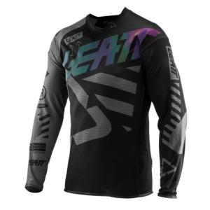 Велоджерси Leatt Jersey DBX 4.0 UltraWeld, черный 2019