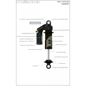 Кольцо уплотнительное Cane Creek DB1 O-Ring, 4.50 X 1.50 {PAI 56-176 5747-70}, .DB11102