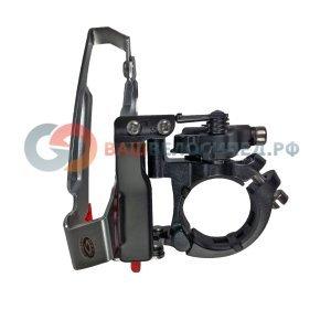 Переключатель передний SHIMANO FD-M590 DEORE, универсальный нижний хомут, KFDM590M6Передние переключатели<br>SHIMANO Переключатель передний FD-M590 DEORE, универсальный нижний хомут, универсальная тяга, 66-69°, для 44/48Т, без упак.