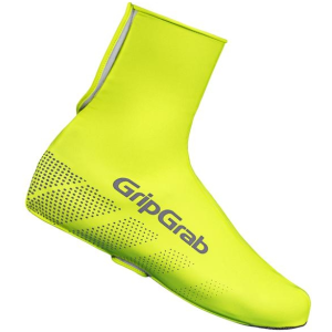 Велобахилы женские GripGrab Ride Waterproof Hi-Vis Shoe Cover 01 Fluo, желтый