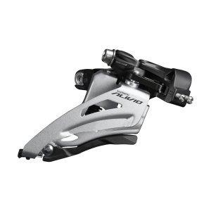 Переключатель передний Shimano Alivio, M4000, средний хомут 34,9 мм, 2x9 скоростей, EFDM4020MX4Передние переключатели<br>СПЕЦИФИКАЦИЯ<br>Передний переключатель<br>Для велосипедов MTB<br>Объем коробки передач: 14T<br>Тип монтажа: Труба 34,9 мм<br>Тип прогиба: Боковое качание<br>Тип системы: механический<br>Самый большой фронтальный режим: 36T<br>Задние передачи: 9<br>Передние передачи: 2<br>Цепная линия (мм): 48,8 мм