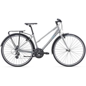 Дорожный женский велосипед Giant Alight 2 City 28, 2016Женские<br>Едете ли Вы на работу, на встречу с друзьями или просто решили устроить себе небольшую фитнесс-покатушку — Alight всегда на стороне здорового образа жизни.<br><br>Легкая рама из сплава ALUXX со специальной женской геометрией и посадкой. Вертикальная посадка, легкое и непринужденное катание с комфортом.<br><br>Легкая и прочная рама из сплава ALUXX<br><br>Вертикальная, но эффективная посадка, укороченная верхняя труба для максимального контроля и комфорта<br><br>Рама с низким подъемом из сплава ALUXX<br>Трансмиссия Shimano Altus 24 передачи<br>Ободные тормоза Tektro<br>Покрышки Giant S-X3 с защитой от проколов 32 мм<br>Экипирован крыльями, багажником и подножкой<br>СПЕЦИФИКАЦИЯ:<br><br>Модельный год 2016<br>Бренд Giant<br>Уровень Любительский, Начальный<br>Пол Женский<br>Назначение Универсальный, Дорожный<br>Материал рамы Алюминий<br>Рама Алюминиевый сплав<br>Тип рамы Ригид<br>Вилка Алюминиевый сплав<br>Руль Giant Connect low rise<br>Вынос Giant Sport<br>Подседельный штырь Giant Sport<br>Седло Liv Connect, Upright<br>Педали FP-822<br>Кол-во скоростей 24<br>Шифтеры/Манетки Shimano M310 24-spd<br>Передний переключатель Shimano Altus<br>Задний переключатель Shimano Altus<br>Тип тормозов Ободные (V-Brake)<br>Тормоза Tektro TK837<br>Тормозные ручки Tektro CL331-RS<br>Кассета SRAM PG830 11-32<br>Система/Шатуны SR NEX-T208, 28/38/48<br>Цепь KMC Z72<br>Каретка BB10-XCT<br>Размер колес 28 (700С)<br>Обода Giant GX-02<br>Втулки Joytech 32h<br>Покрышки Giant S-X3 700x32C