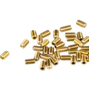 Шипы к велопедалям HT SP7 M4х7mm, 40 штук, AN01/AN06, золотой, 136AN01-GD-311
