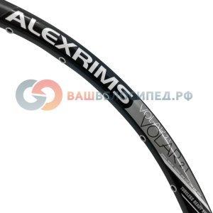 Обод ALEX RIMS VOLAR 2.1, 26х21, 32H, двойной, SSE, для бескамерных покрышек,чёрный (FR/DH)Обода<br>ALEX RIMS Обод VOLAR 2.1, 26х21x32H, двойной, спортивный ниппель, SSE, для бескамерных покрышек, чёрный (FR/DH)