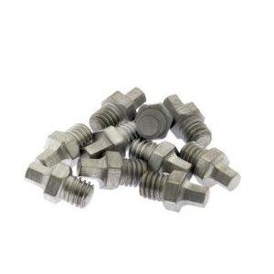 Шипы к велопедалям HT Aluminium Pins 1/8x8mm, 40 штук, ANS01/ANS06, Silver, 136ANS-SIJ02-311