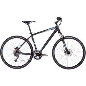 Кроссовый велосипед KELLYS Phanatic 30 28 2018Туристические и циклокроссовые<br>Общие характеристики<br>Вид Взрослый, MTB (горный), гибридный, алюминиевая рама, модель 2018 г.<br><br>Колеса 28, двойной алюминиевый обод<br>Амортизация<br>Тип амортизации амортизирующая вилка (Hard tail)<br>Вилка ход 75 мм, SR Suntour NVX-HLO<br>Регулировки передней вилки блокировка хода<br>Управление<br>Рулевая колонка полуинтегрированная<br>Руль изогнутый<br>Манетки триггерные двухрычажные, Shimano Alivio SL-M4000 RapidFire Plus<br>Характеристика трансмиссии<br>Количество скоростей 27<br>Каретка Cartridge<br>Педали классические<br>Передний переключатель 3 звезды, Shimano Acera T3000<br>Передние звезды системы 48/36/26 зубьев<br>Задний переключатель Shimano Alivio M4000<br>Кассета 9 звезд, Shimano CS-HG300-9 11-34T<br>Тормоза<br>Передний дисковый гидравлический, Shimano M315 160mm<br>Задний дисковый, гидравлический, Shimano M315 160mm<br>Готовность к установке дисковых рама, вилка, втулка (крепежные отверстия)