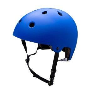 Шлем велосипедный KALI BMX/FREESTYLE MAHA, синий 2019Велошлемы<br>Синий, 11 вентиляционных отверстий, сменная антибактериальная подкладка, классический шлем для BMX, DIRT, самокатов и города, 375гр. <br>Сертификаты безопастности EN 1078, CPSC, инд. уп